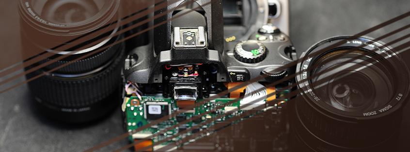 آموزش تعمیرات دوربین