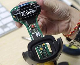 آموزش تعمیرات دستگاه بارکد خوان